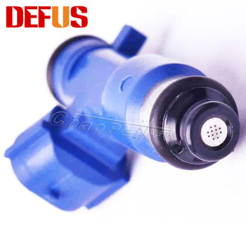 4PCS New Fuel Injector For Nissan GTR Infiniti G37 16600-JF00A OE Nozzle Injectors Fuel Injection System Replacement Kits Blue 113701