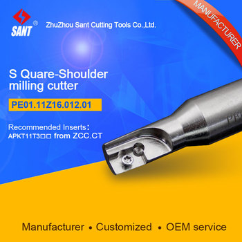 S-shoulder milling cutter Indexable insert APKT11T3 From ZCC.CT disc PE01.11Z16.012.01/EMP01-012-G16-AP11-01 hot selling Abroad 153370