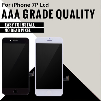 10pcs/LOT For iPhone 7 PLUS LCD Grade AAA+++ Tianma LCD Digitizer Complete 3D Touch Screen with Assembly Replacement & Free DHL 171407