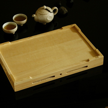 Japanese Style Wooden Rectangular Box Sashimi Slabs Plate Sushi Bread Plate Assorted Cold Dishes Japonic Bread Tray